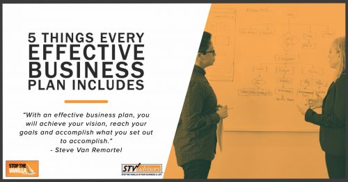 5 Things Every Effective Business Plan Includes Cover Image