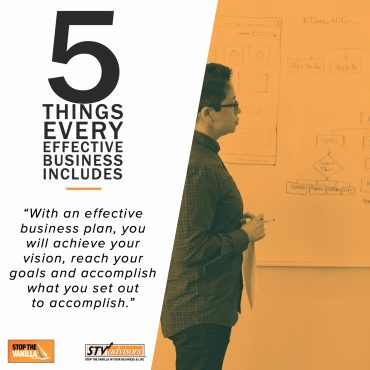 5 Things Every Effective Business Plan Includes