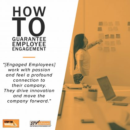How to Guarantee Employee Engagement Cover Art