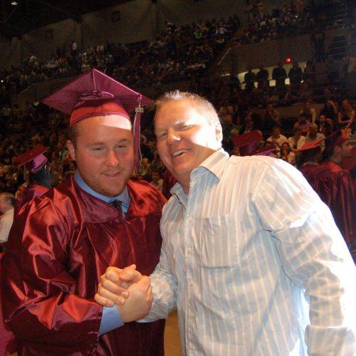 Steve Van Remortel with Mitch Van Remortel