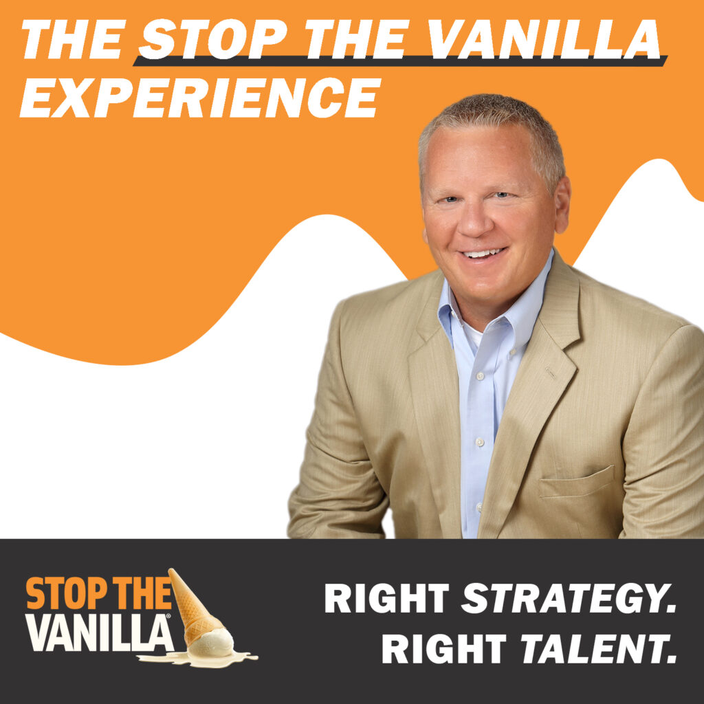 The Stop The Vanilla Experience Podcast Cover