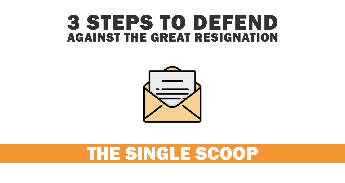 3 Steps to defend against the Great Resignation Artwork